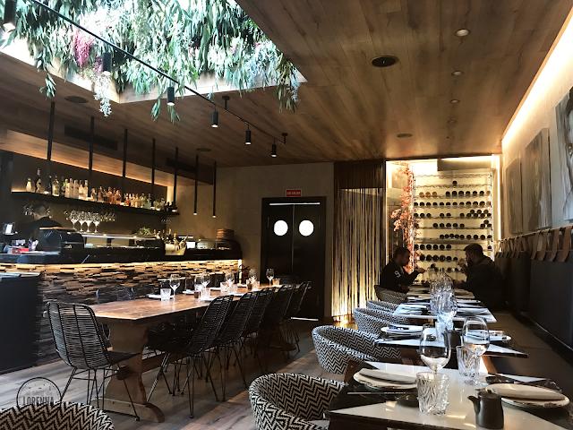 Chow Chow ha sido decorado por María Villalón, interiorista que también se encargó de la terraza de Teckel y el restaurante Pointer.