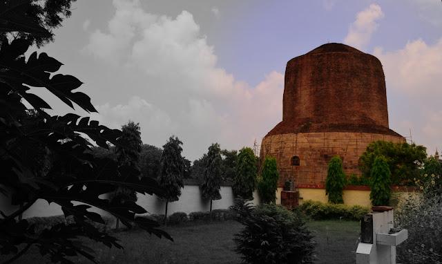 Dhamek Stupa, Sarnath, Varanasi