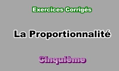 Exercices Corrigés Sur La Proportionnalité 5eme en PDF