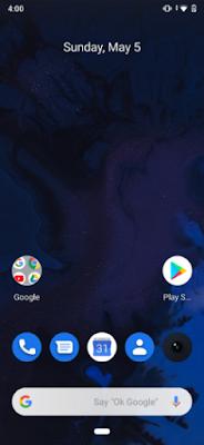 Realme 3 Pro Android Q BETA HOME