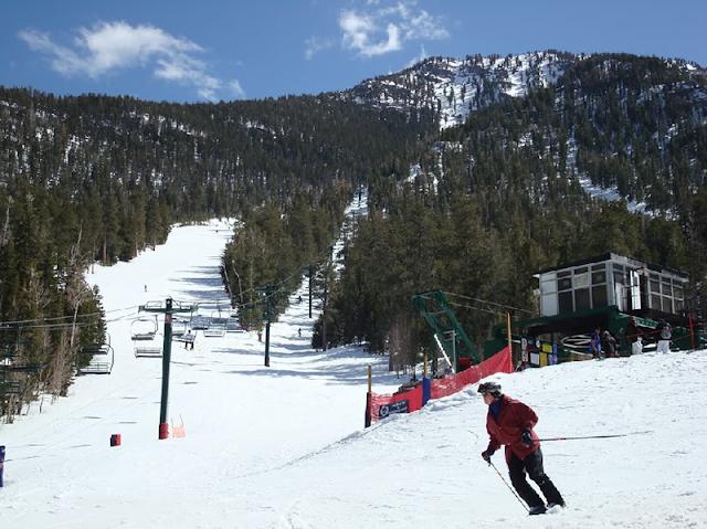 Esquiar em Las Vegas