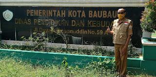 Hari Pertama : Minta Rekomendasi ke Kepala Dinas Pendidikan dan Ketua PGRI Kota Baubau
