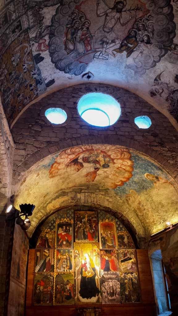 Interior Santa María d'Arties