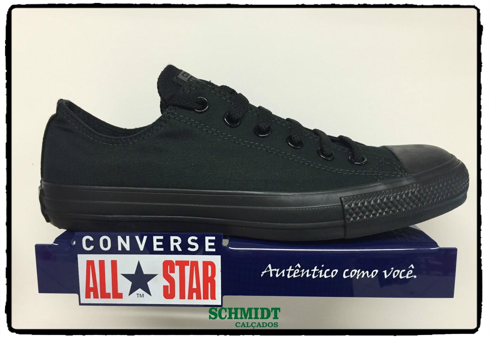 4e2dbca35421 Ponto 3 e Schmidt Calçados  All Star - converse