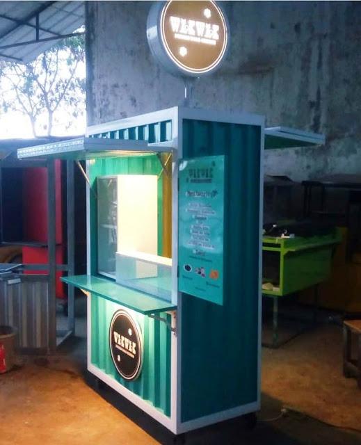 Gerobak Container - Booth Container - Gerobak container murah