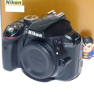 Kamera Nikon D3300 BO Second Fullset
