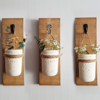 Mason Jar Wall Sconces