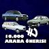 10000 TL Araba Önerileri | Nisan 2020