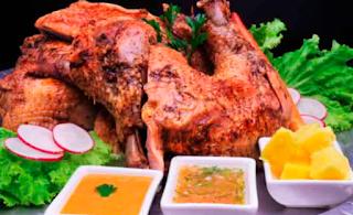 Cocina Ecuatoriana - Gallina de Pinllo