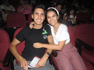 Alonso Ramos y Paola Farenghel.