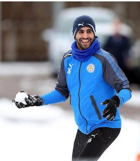Leicester to fine Riyad Mahrez