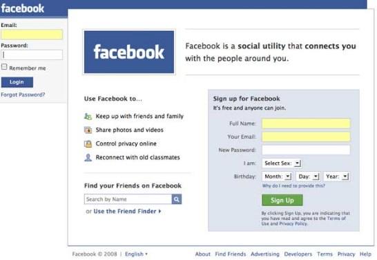 Download Old Version of Facebook