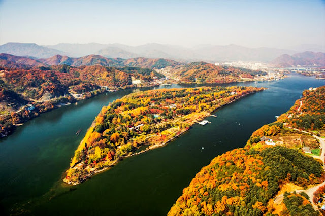 Đảo Nami Hàn Quốc.