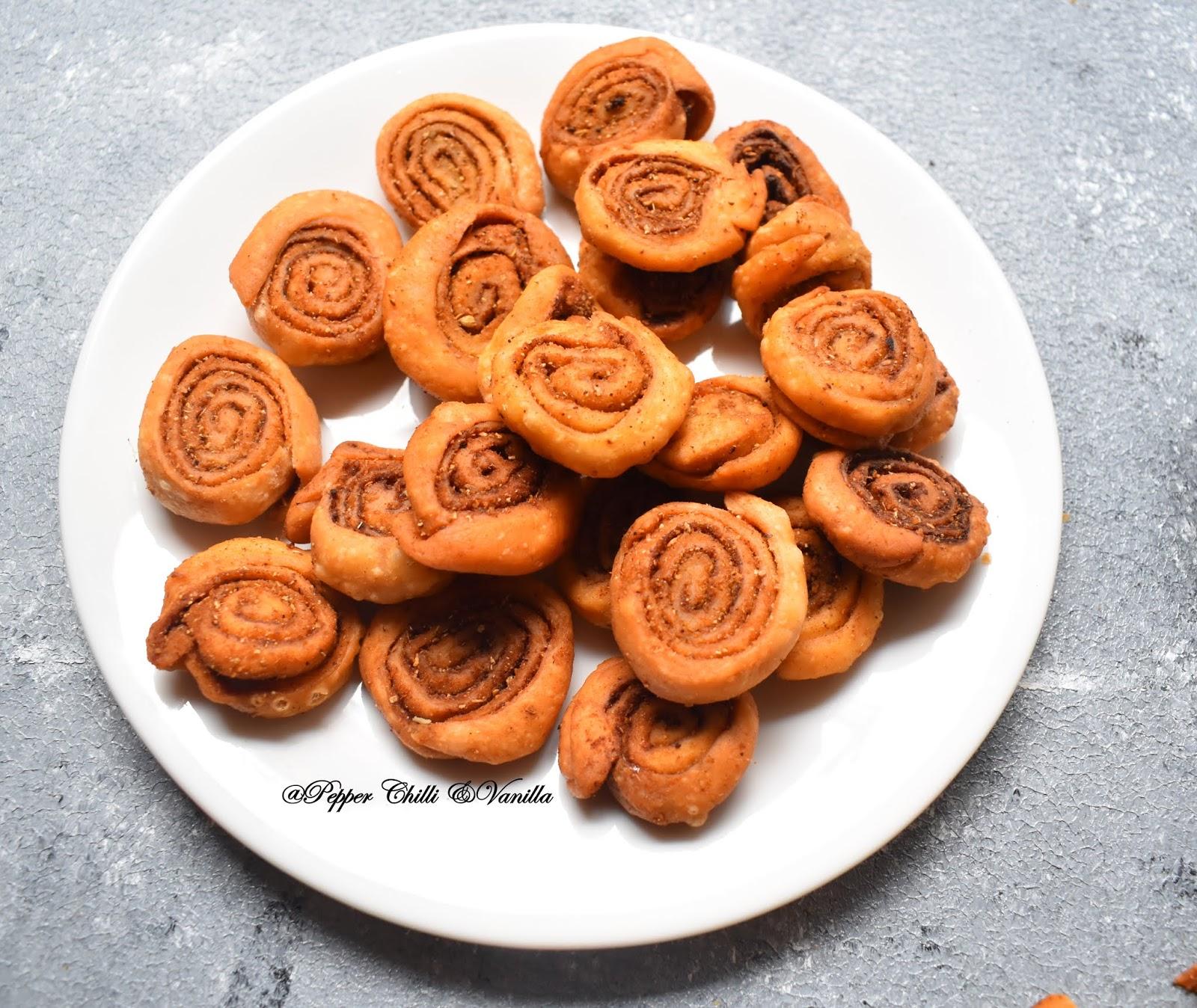 crispy  bhakarwadi recipe,crispy bhakarvadi recipe