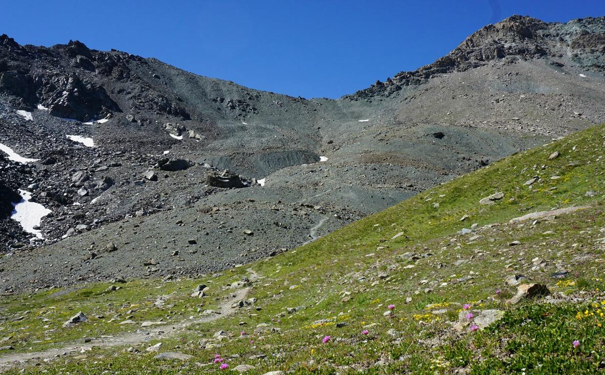 Trail to Col de la Noir 2955m