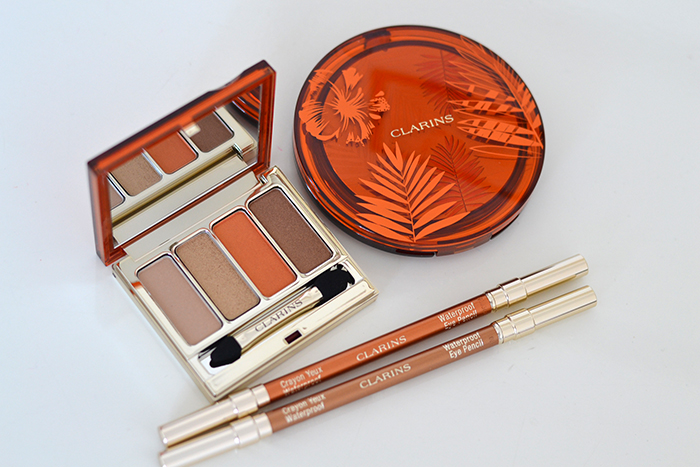 sunkissed collezione make-up clarins 2017