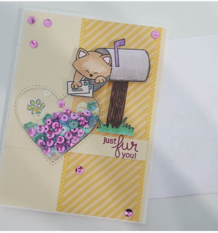 Just fur you by April features Newton's Happy Mail by Newton's Nook Designs; #newtonsnook