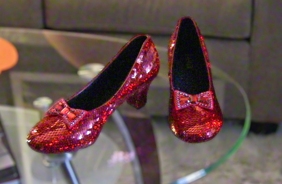 Ruby Slippers Handmade Just For You