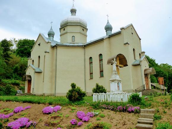 Гошев Долинского района Ивано-Франковской области. Церковь