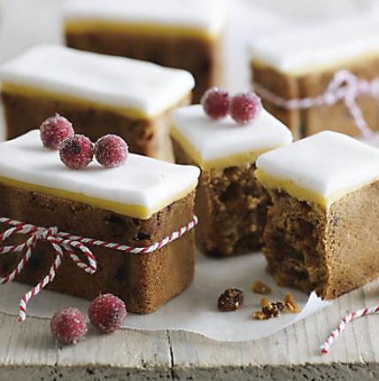 Christmas Mini Loaf Cakes