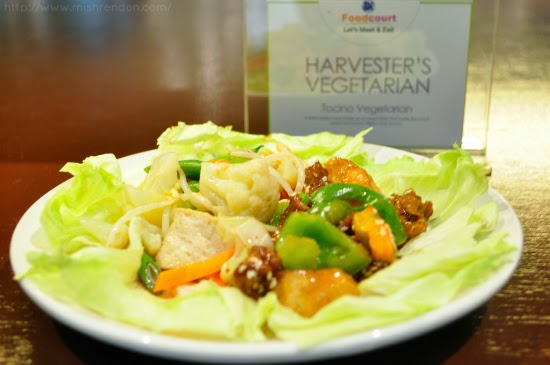 Tocino Vegetarian from Harvester's Vegetarian SM Fairview Foodcourt