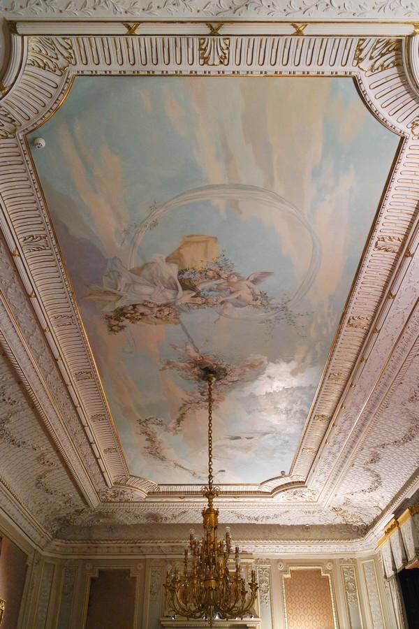 vienne hietzing sissi hermes villa lainzer tiergarten klimt plafond