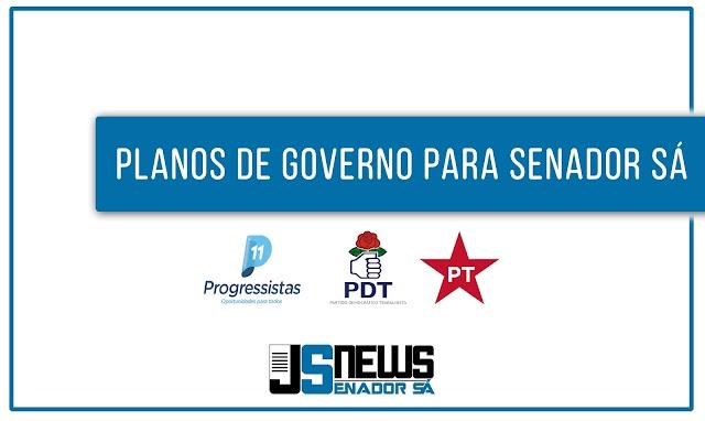 Conheça os planos de governo e/ou propostas, de cada candidato, apresentados a justiça eleitoral