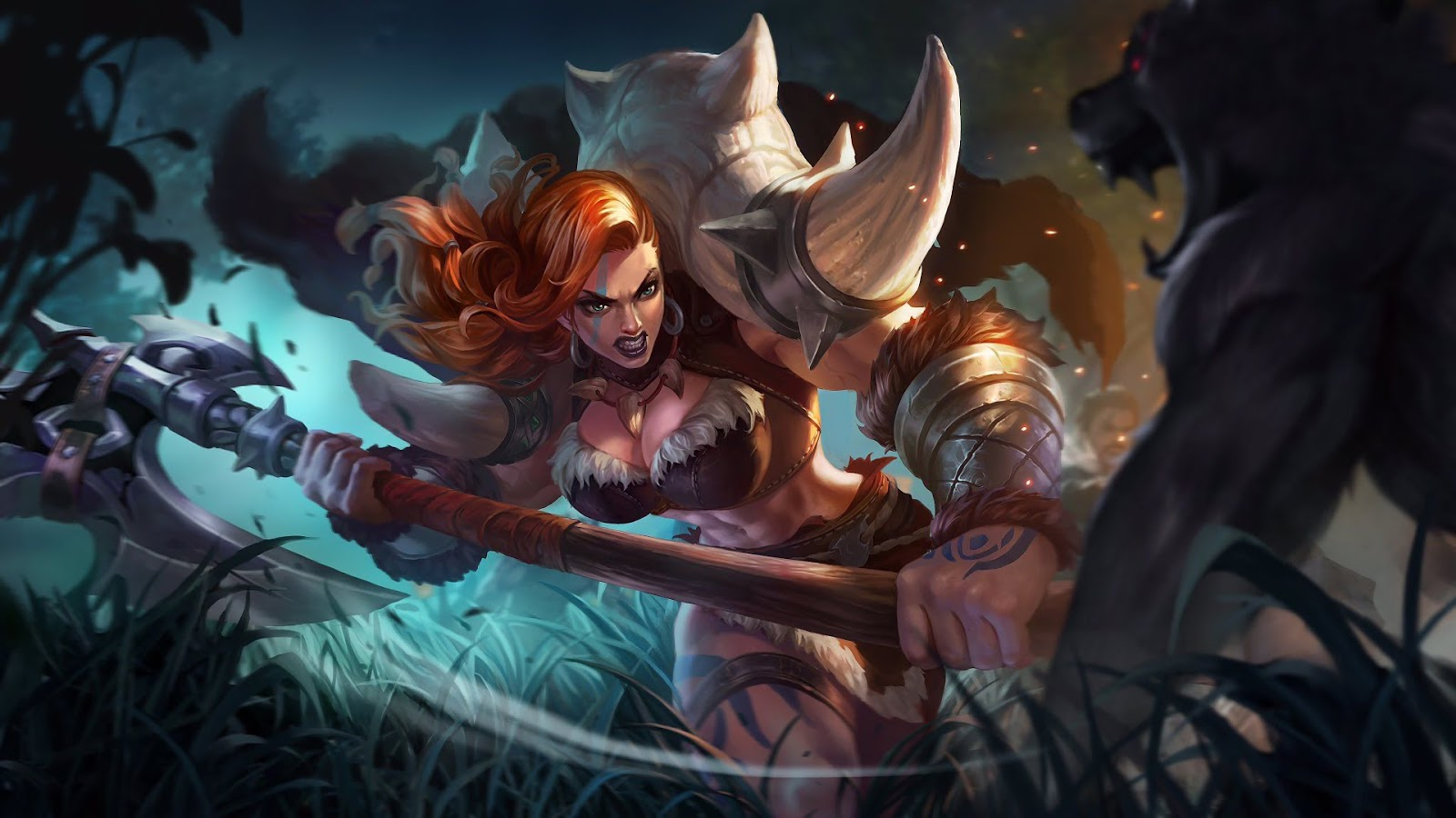 Wallpaper Hilda Power of Megalith Skin Mobile Legends HD for PC