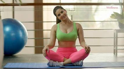 Sunny Leone's Morning Workout Pics Actress Trend