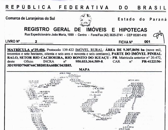 Assentamento Marcos Freire em Rio Bonito do Iguaçu e outros do Paraná estão aptos para a titularização
