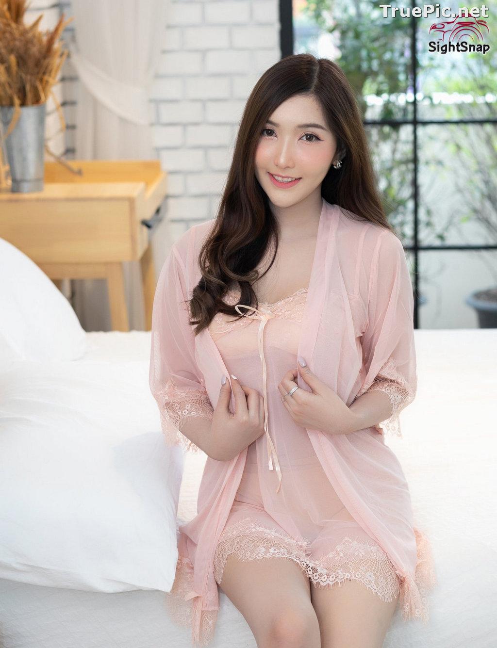 Image Thailand Model - Luc Kie - Nice Pink Love Night Dress - TruePic.net - Picture-10