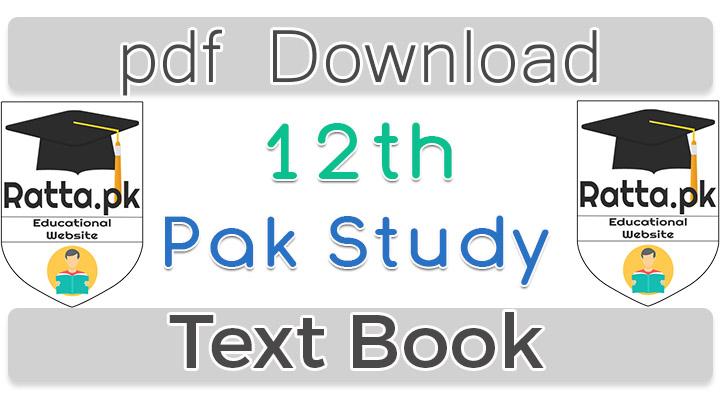 Pakistan Studies Books In English Pdf