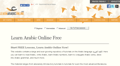 LEARNING ARABIC ONLINE(LAO)