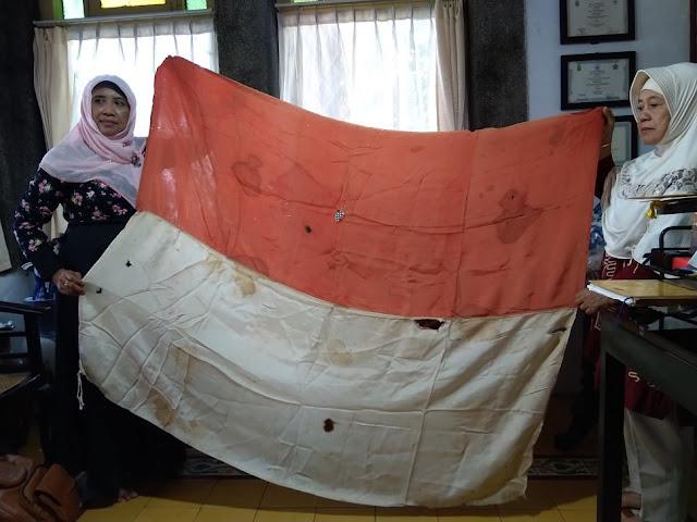 Ini Bendera Merah Putih Pertama yang Berkibar di Cirebon Setelah Proklamasi