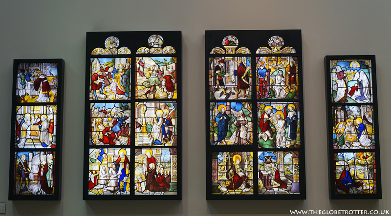 Stained glass from Mariawald Abbey