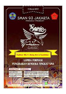 """SONIC 3rd """"PASKIBRA SMAN 93"""""""