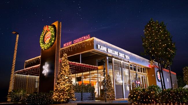 Ação do Burger King comemora o Natal em julho/Reprodução