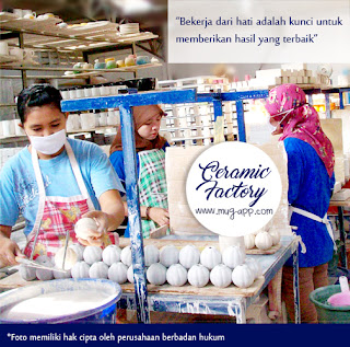 Pabrik Mug Terbesar di Bogor | Mug-App Pabrik Mug Souvenir