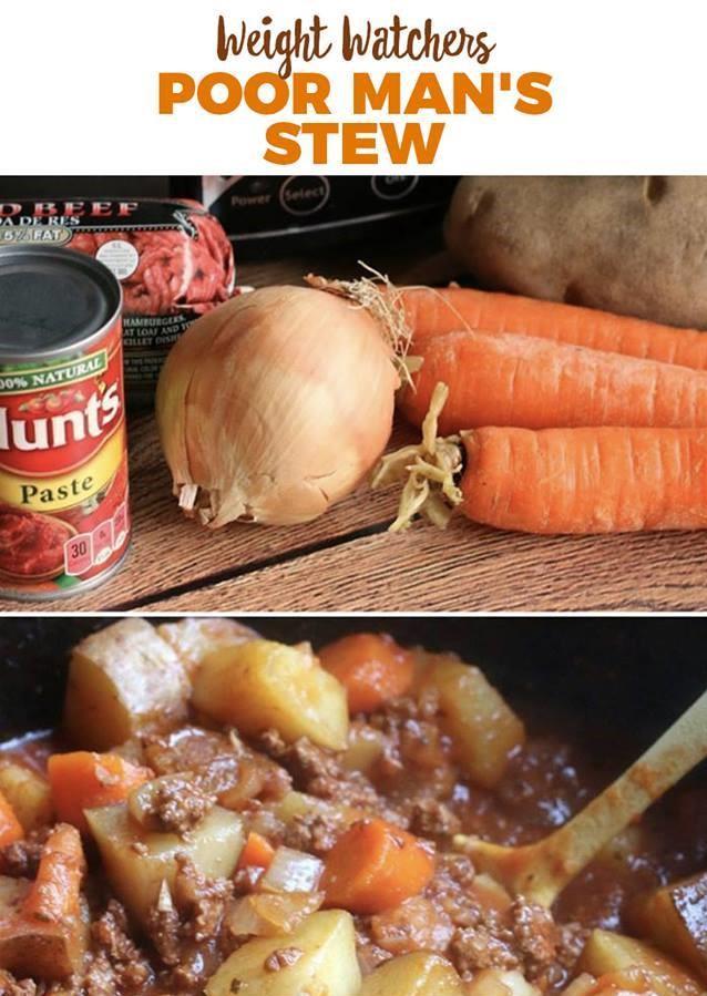 Poor Man's Stew Recip