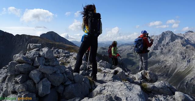 En el Macizo Oriental o de Andara en el Parque Nacional de los Picos de Europa