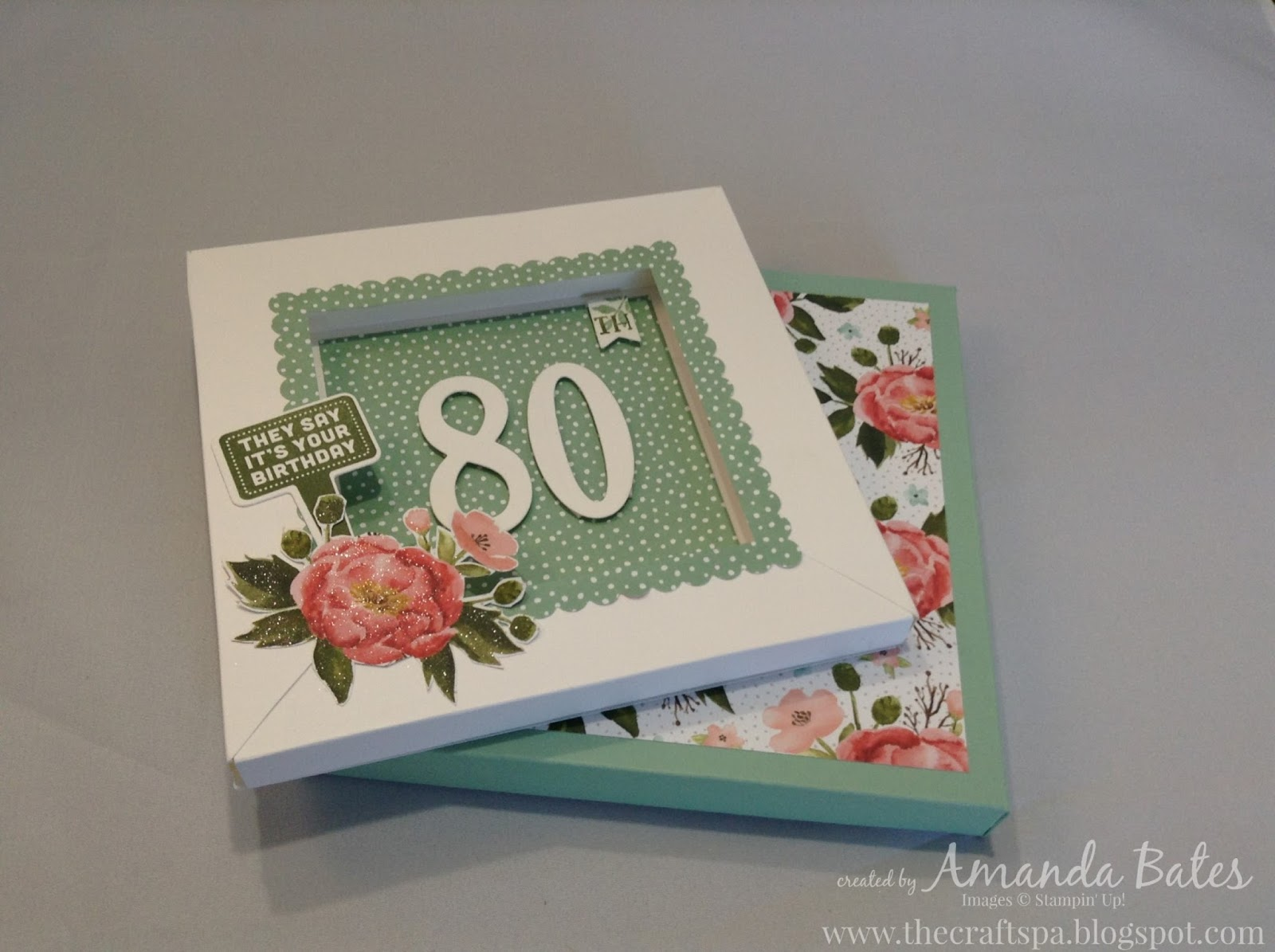 The Craft Spa Stampin Up Uk Independent Demonstrator Birthday