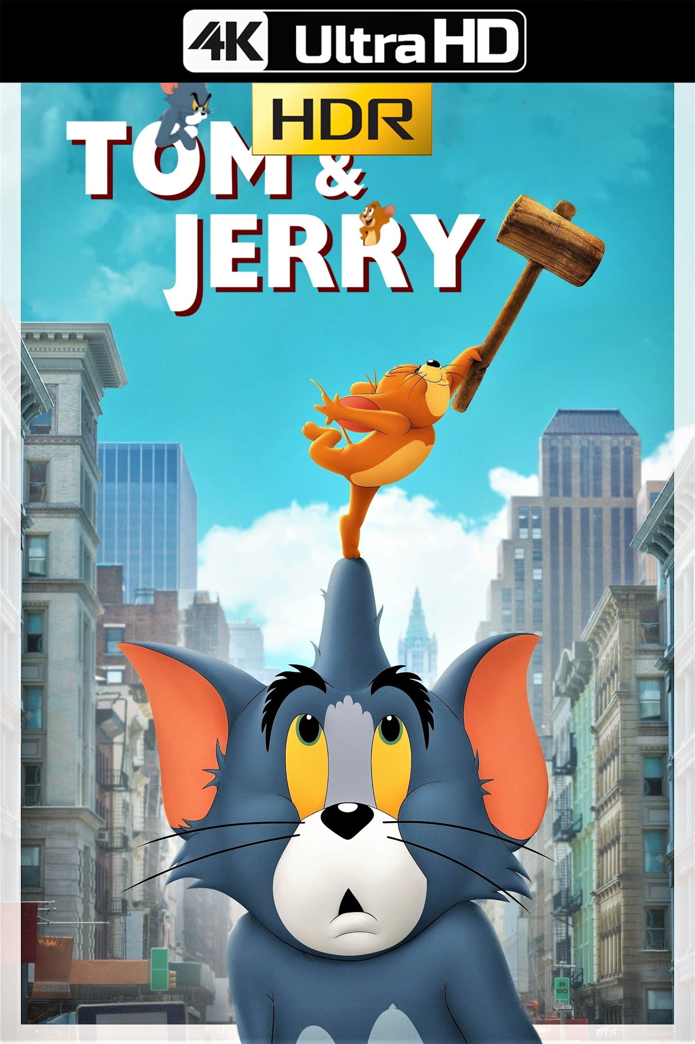 Tom & Jerry (2021) HMAX 4K-HDR WEB-DL 2160p Latino