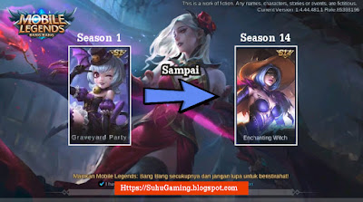 Review Skin Season 1-14 Mobile Legends Update Terbaru