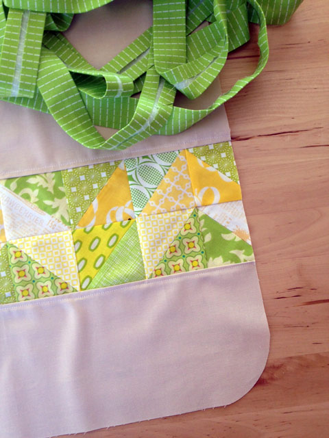 Patchwork Apron Sewing Tutorial