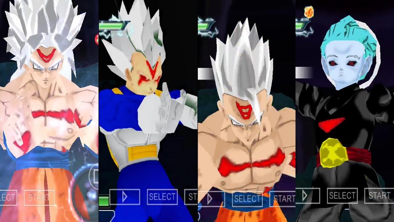 Anime War Goku And Vegeta Omni God