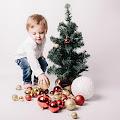 Wesołych Świąt - sesja świąteczna w Łomiankiach