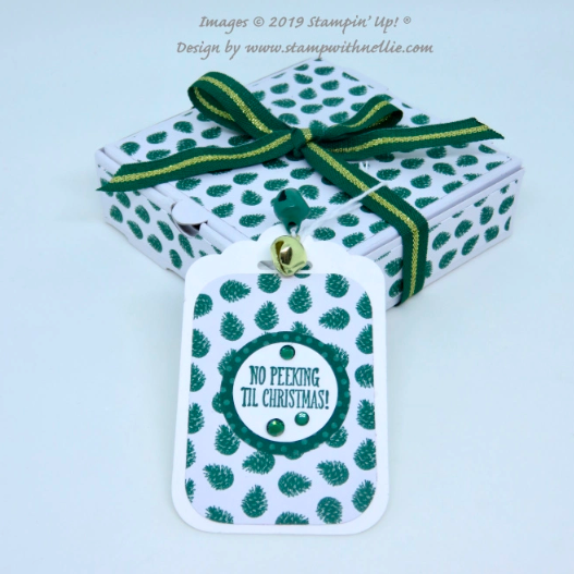 Nigezza Cretes with Stampin' Up! and Stamp With Nellie and Wrapped in Plaid