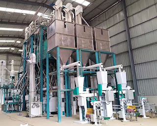 240tons maize mill plant in Angola