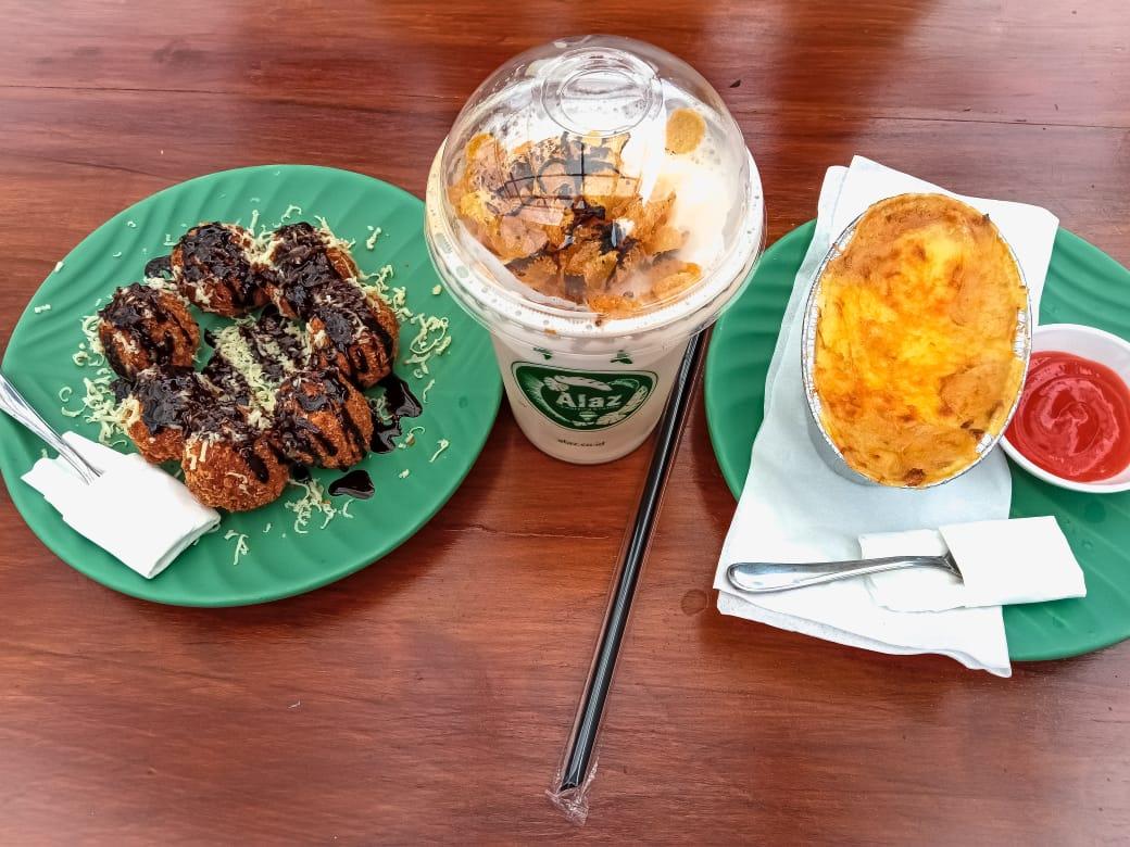 Menu makanan Alaz Cafe