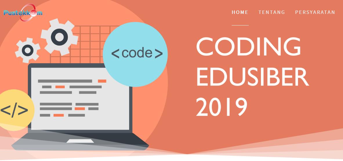 Lomba Coding Edusiber Guru dan Siswa SMA/SMK Tahun 2019